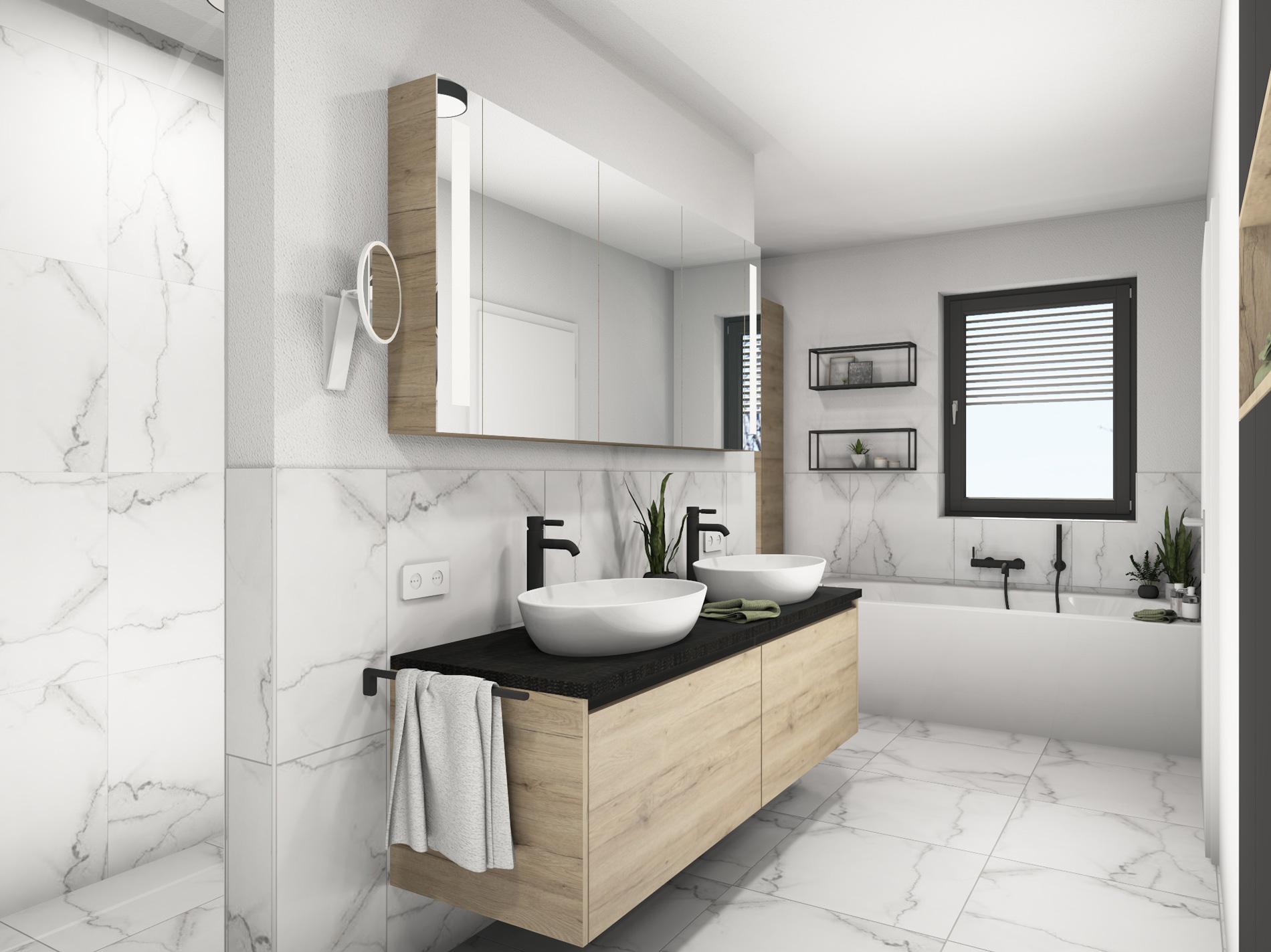 Badplanung-Top4-Waschtisch-offene-Dusche