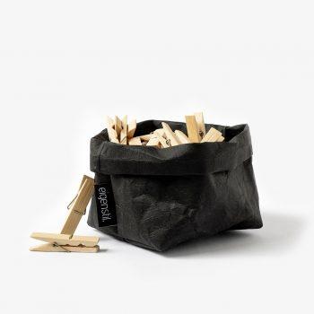bag schwarz small deko