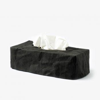 taschentuchbox schwarz rechteckig